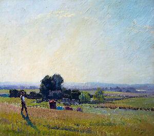 Elioth Gruner - Morning Light, Museum Art Poster, Canvas Print
