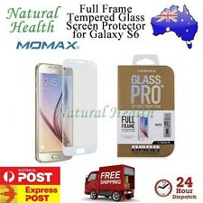 Momax Tempered Glass Screen Protector Full Frame 9H for Samsung Galaxy S6 White