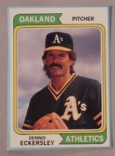 1992 SCD Sports Card Price Guide Monthly #74 Dennis Eckersley A's Baseball Card