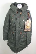 Khujo #32488 Claire Parka Mantel Jacke Damen Winterjacke Outdoor Gr. S Oliv