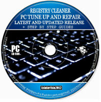 Registry Cleaner Pro PC Tuneup Repair Errors Free Disk Space Virus Removal PC CD