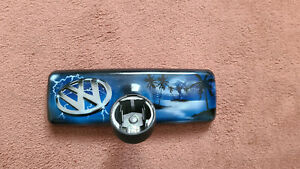 VW Polo 6N Rückspiegel / Innenspiegel, Airbrush, Top!