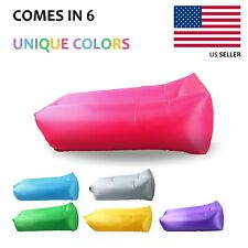 Inflatable Lounger Air Sofa Cool Chair for Travelling Easy to Carry and Store.