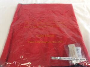 The Cashmere Centre Ladies Snood Black/Red NEW BNWT scarf - DC4