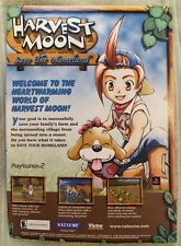 Harvest Moon Poster Ad Print Playstation 2