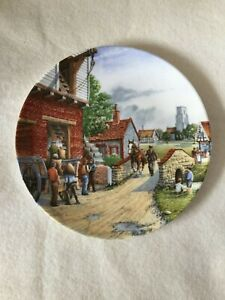 Vintage Royal Doulton The Water Mill Journey Through Th Village Collectors Plate