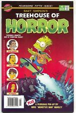 The Simpsons Treehouse Of Horror 5 Bongo 1999 VF Halloween Newsstand