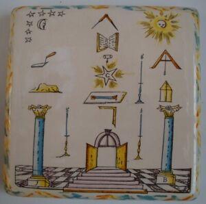Dessous de plat Franc Macon Style Art Deco Style Art Nouveau Porcelaine