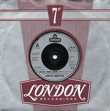 """Curtis Hairston - I Want Your Lovin' (Just A Little Bit)  (7"""" Single 1985)"""