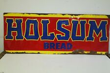 Vintage Holsum Bread Tin Sign