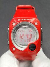 C asio G-Shock G-8000F-4 Red Digital Watch Rare