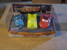 DISNEY CARS DISNEY STORE 3-PACK LOW-N-SLOW  MATER RAMONE MCQUEEN