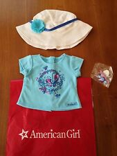 American Girl Tee, Hat & Bracelet Set ~ Exclusive In Store Purchase New !!!!