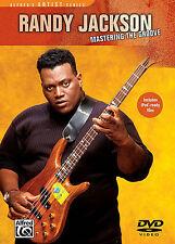 RANDY JACKSON MASTERING THE GROOVE BASS GUITAR DVD NEW