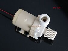 Solar DC 12V Hot Water Circulation Pump Brushless Motor Water Pump 3M New