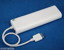 5V 1A Portable Emergency Backup Battery Charger WHITE for Samsung Galaxy Note 3