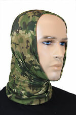 Multitarn Camo MULTIFUNCTION HEADGEAR - Army Schal Balaclava Scarf Bandana Snood