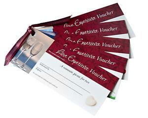 Love Vouchers | 7 Red Romantic IOU Cards |  Unique Anniversary, Wedding Gift