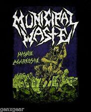 MUNICIPAL WASTE cd cvr MASSIVE AGGRESSIVE Official SHIRT XL new