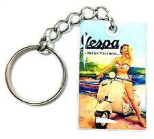 """""""Vespa"""" - Portachiavi acciaio - Steel Keychain - Acero Llavero"""