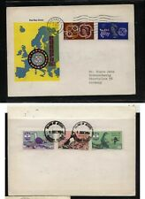 Great  Britain Isle of  Jethou   Europa overprinted stamps         MS0105