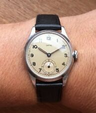 Smiths RG0307 Pre-deluxe Watch 1949 Rare Find Serviced/timed