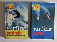 PERIPLUS ACTION GUIDES SURFING HAWAII & SURFING AUSTRALIA