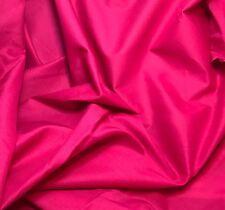 Fuchsia Pink Cotton LAWN Batiste Fabric 1/3 yard remnant