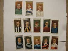 trade card ogden's famous footballers 1908 he shewring bristol city