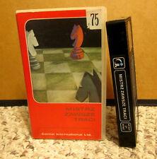 MISTRZ ZAWSZE TRACI Polish film 1976 chess tournament Grzegorz Lasota VHS rare