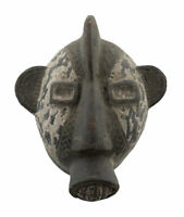 Masquette Votive Terra Cotta Etnico Maschera Fetish Rituale Arte Africano 882