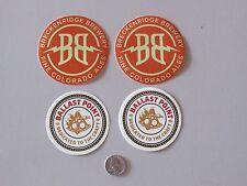 NEW Breckenridge Brewery Colorado Ballast Point Beer Tap Stickers Decals Brew