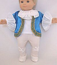 "Nutcracker Boy Ballet Costume for 15"" Bitty Baby by American Girl Doll Clothes"