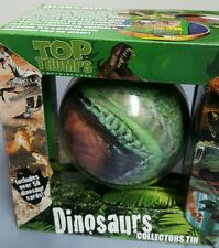 DINOSAUR TOP TRUMP CARD GAME IN A COLLECTIBLE TIN * FREE SHIPPING