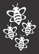 Flying Bumblebees Cartoon - Die Cut Vinyl Window Decal/Sticker for Car/Truck