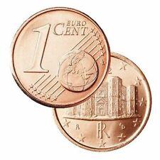 Pièces euro de l'Italie pour 1 cent