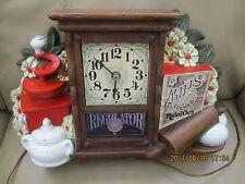 Vintage 1978 Mills Rolled Oats Mantle Clock-SPARTUS CORPORATION