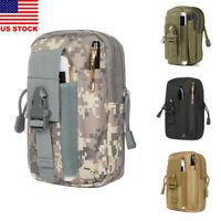 Men's Military Tactical Waterproof Waist Pack Purse Mini Outdoor Sport Small Bag