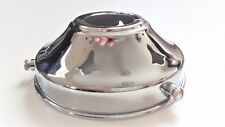 ANTIQUE STYLE CHROME GLASS LIGHT SHADE GALLERY 3 1/4 INCH LAMP SHADE HOLDER