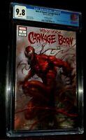 2019  WEB of VENOM:CARNAGE BORN #1 Parrillo Variant Marvel Comics CGC 9.8 NM/M!!
