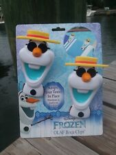 Frozen Olaf Boca Clips by O2COOL . Beach Towel Holder . Clips
