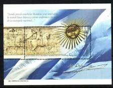 ARGENTINA 2012,NATIONAL FLAG,BELGRANO S/SHEET YV BL132 MNH