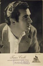 Opera Star Tenor FRANCO CORELLI - amazing Hand Signed 15x10 photo Autograph