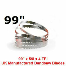 Butchers Meat Bandsaw Blades (5 Pack) - 99""