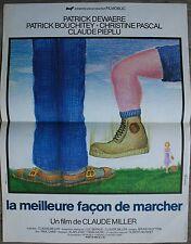 LA MEILLEURE FACON DE MARCHER Affiche Cinéma 53x40 Movie Poster Patrick Dewaere
