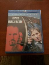 2 Movie Collection: American History X & A History Of Violence Blu-ray,brand new