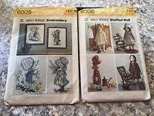 Holly Hobbie Vintage Sewing Patterens