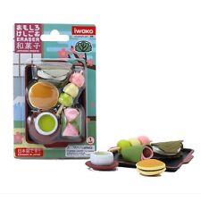 IWAKO Puzzle Eraser / Japanese Sweets Blister Pack (Japan Import) 05 ER-BRI009