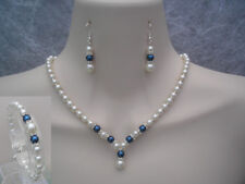 Handmade Silver Plated Rhinestone Costume Necklaces & Pendants