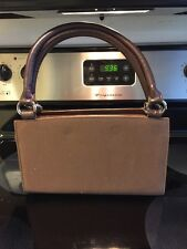 Miche Classic Brown Base Bag Rolled Handles EUC Discontinued ~J~